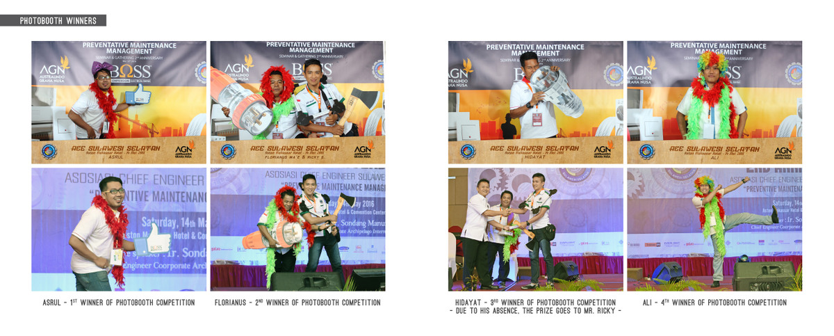 Photobooth Winners